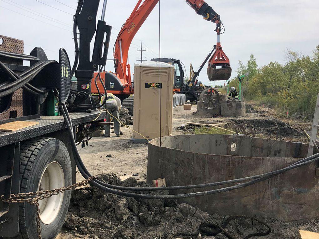 Road Construction Manitoba
